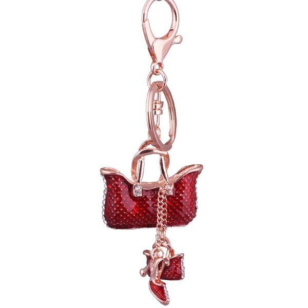 Alloy Fashion Geometric key chain  (1) NHMM2226-1