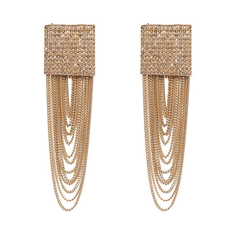 Alloy Fashion Tassel earring  (51143) NHJJ5059-51143