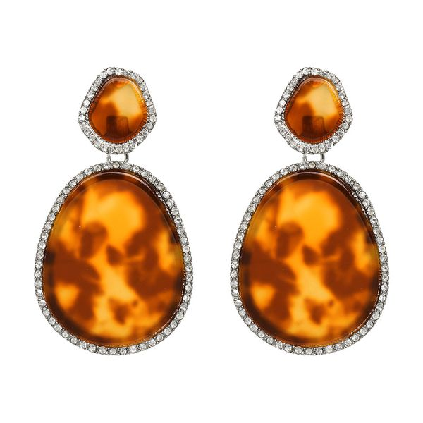 Plastic Fashion Geometric earring  (51144) NHJJ5061-51144