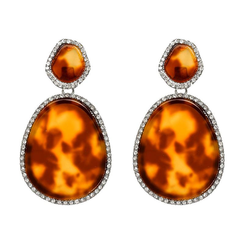 Plastic Fashion Geometric earring  51144 NHJJ506151144