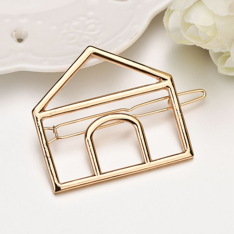 Alloy Simple Geometric Hair accessories  (Alloy) NHBQ1686-Alloy