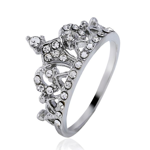 Alloy Korea Animal Ring  (White K-17) NHKQ1867-White-K-17