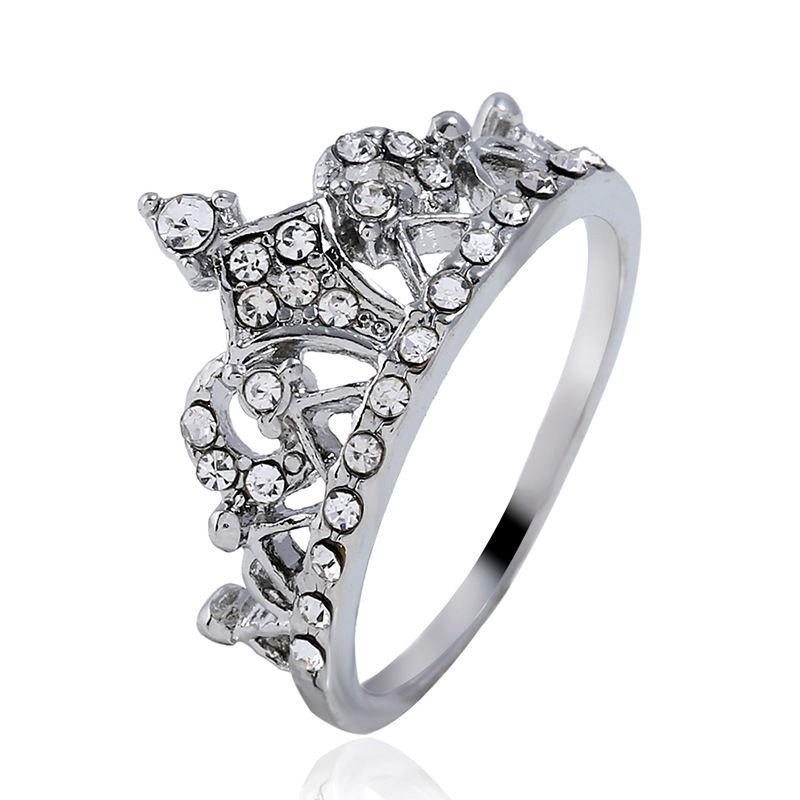 Alloy Korea Animal Ring  (White K-17) NHKQ1867-White-K-17