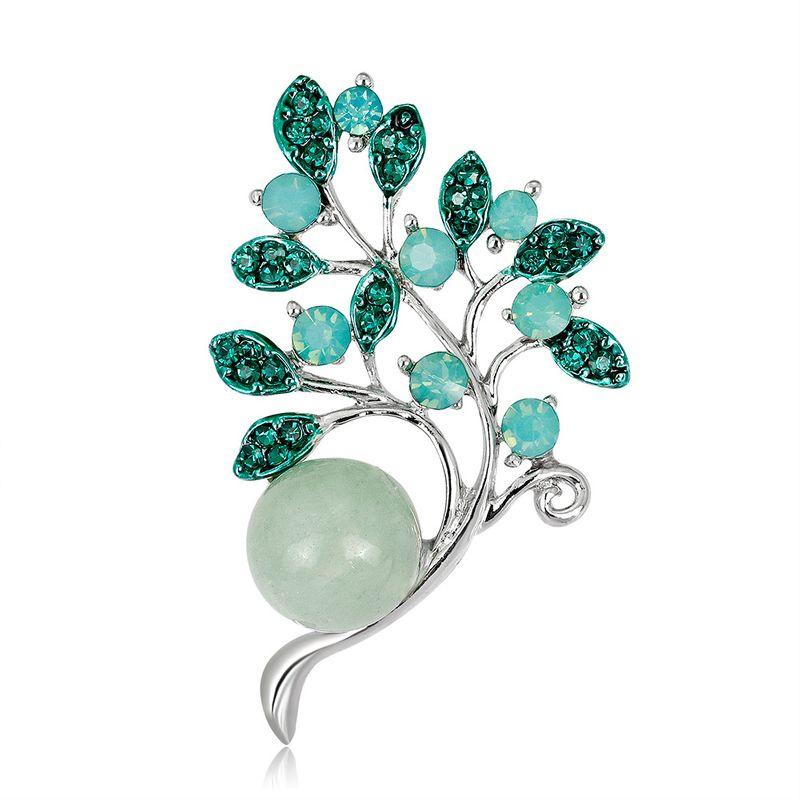 Alloy Fashion Flowers brooch  (AL315-A) NHDR2897-AL315-A
