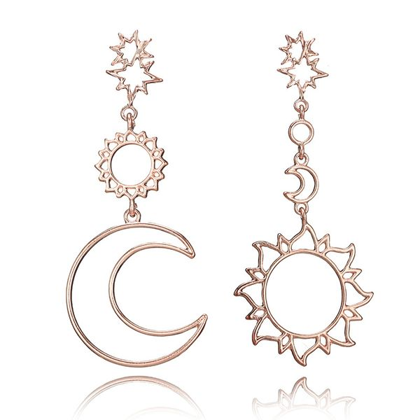 Alloy Simple Geometric earring  (Alloy) NHGY2390-Alloy