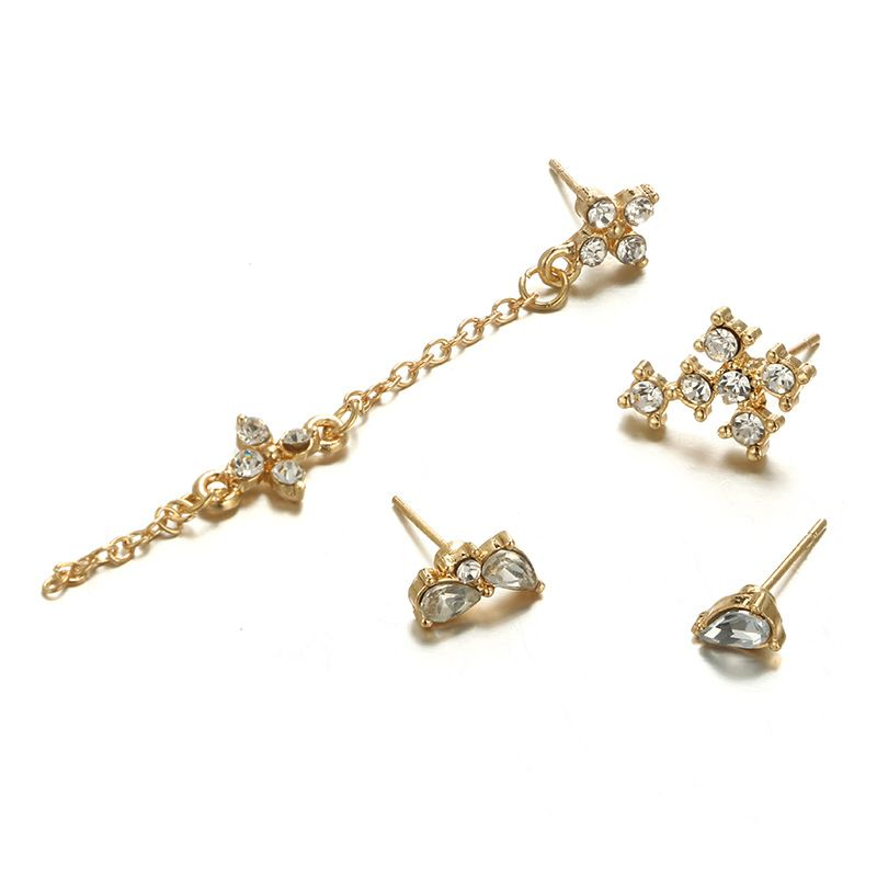 Alloy Fashion Tassel Jewelry Set  Alloy NHGY2397Alloy