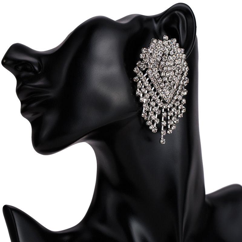 Alloy Fashion Tassel earring  (white) NHJE1856-white