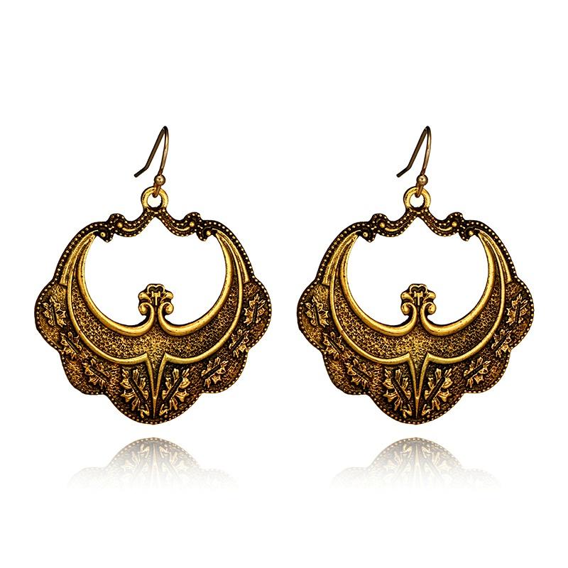 Alloy Vintage Geometric earring  (Alloy) NHGY2410-Alloy