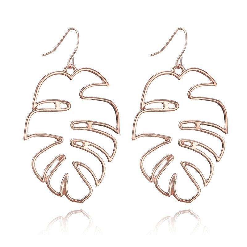 Alloy Simple Geometric earring  (Alloy) NHGY2417-Alloy