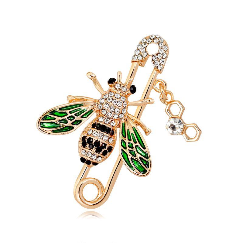 Alloy Fashion Animal brooch  (AL358-A) NHDR2912-AL358-A