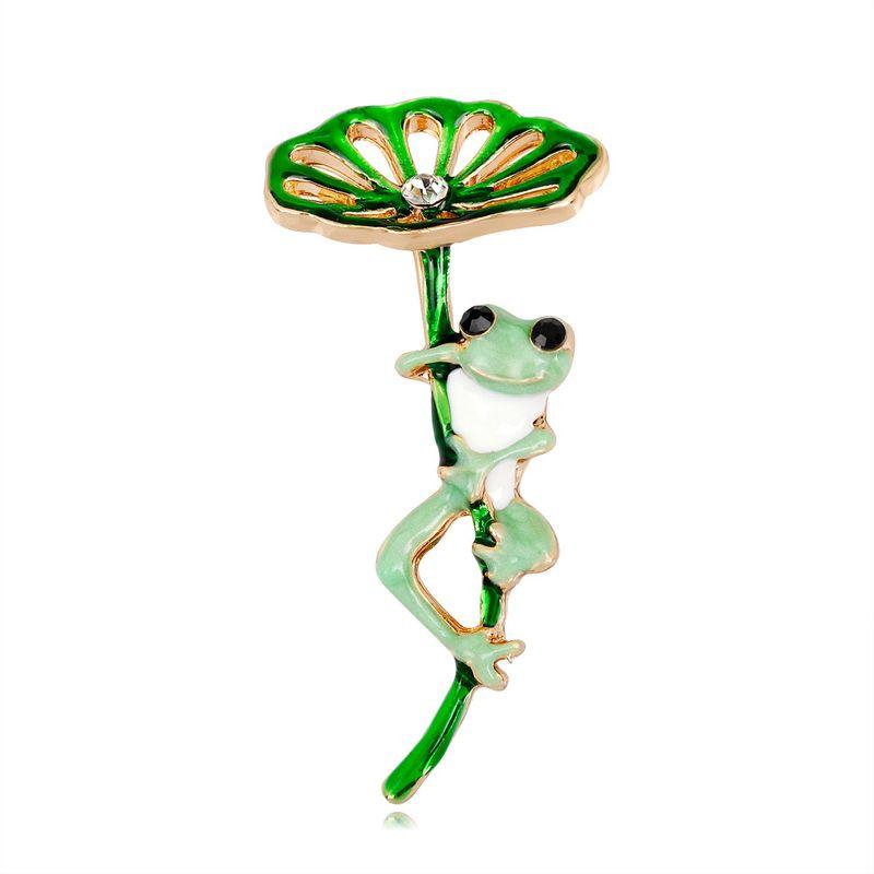 Alloy Fashion Flowers brooch  (AL353-A) NHDR2914-AL353-A