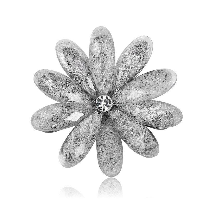 Alloy Fashion Flowers brooch  AL314A NHDR2915AL314A