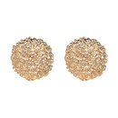 Alloy Simple Geometric earring  red NHJJ5067red