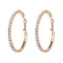 Imitated crystalCZ Fashion Geometric earring  white NHJJ5075white