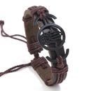 Leather Korea bolso cesta bracelet  black NHPK2086black