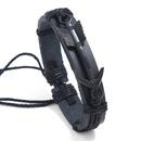 Leather Fashion bolso cesta bracelet  black NHPK2089black