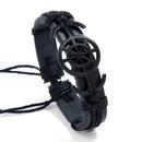 Leather Fashion bolso cesta bracelet  black NHPK2090black