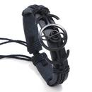 Leather Fashion bolso cesta bracelet  black NHPK2091black