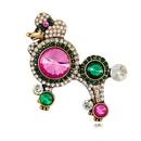 Alloy Fashion Animal brooch  AL355A NHDR2907AL355A