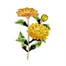 Alloy Korea Flowers brooch  AL351A NHDR2916AL351A