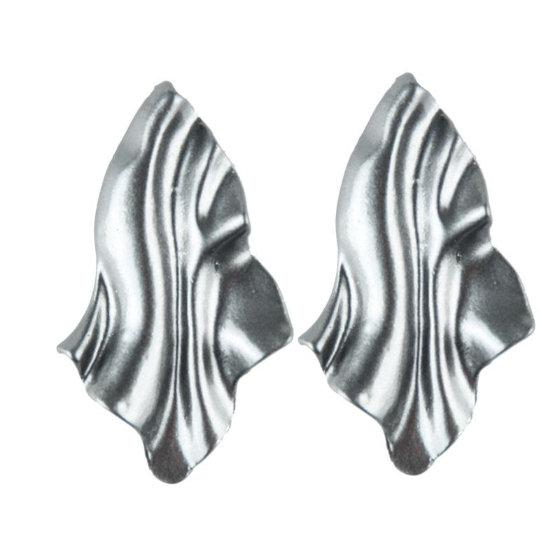 Alloy Bohemia Geometric earring  white NHJQ10665white