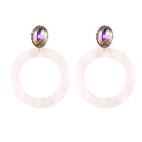 Acrylic Fashion Geometric earring  (white) NHJQ10666-white's discount tags