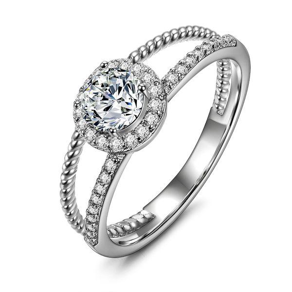 Alloy Fashion Geometric Ring  (Alloy-16mm) NHLJ4063-Alloy-16mm