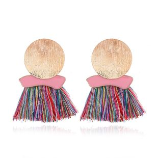 Alloy Bohemia Tassel earring  (color) NHNZ0849-color's discount tags