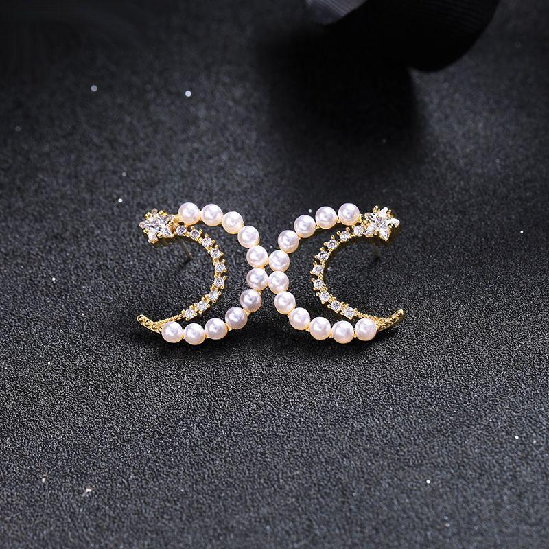 Copper Korea Geometric earring  (Photo Color) NHQD5511-Photo-Color