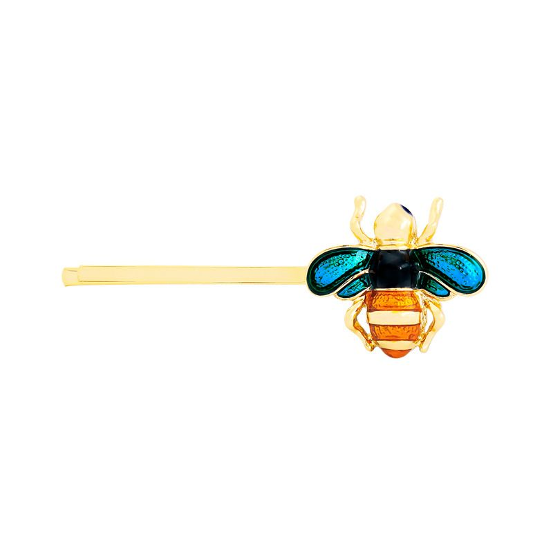 Copper Fashion Animal Hair accessories  (Blue orange-1) NHQD5517-Blue-orange-1