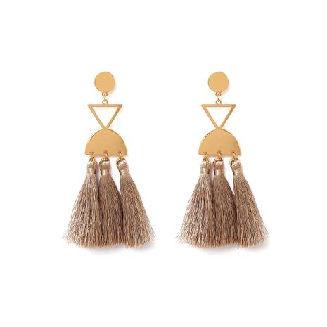 Alloy Simple Tassel earring  (Alloy 1197) NHXR2463-Alloy-1197's discount tags