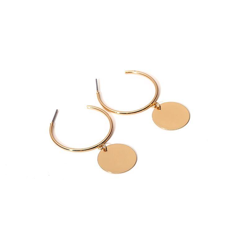 Alloy Simple Geometric earring  Alloy 1198 NHXR2483Alloy1198