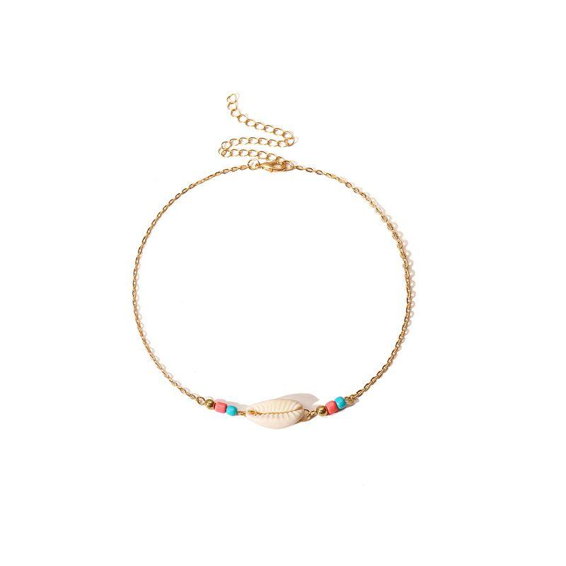 Alloy Simple Geometric necklace  (Alloy 2003) NHXR2485-Alloy-2003