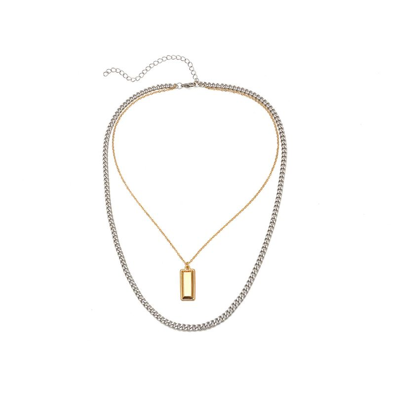 Alloy Simple Geometric necklace  Alloy C1947 NHXR2488AlloyC1947