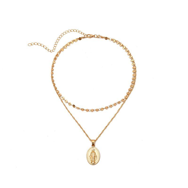 Alloy Fashion Geometric necklace  Alloy 1950 NHXR2493Alloy1950