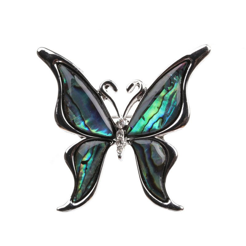 Alloy Fashion Animal brooch  butterfly NHYL0084butterfly