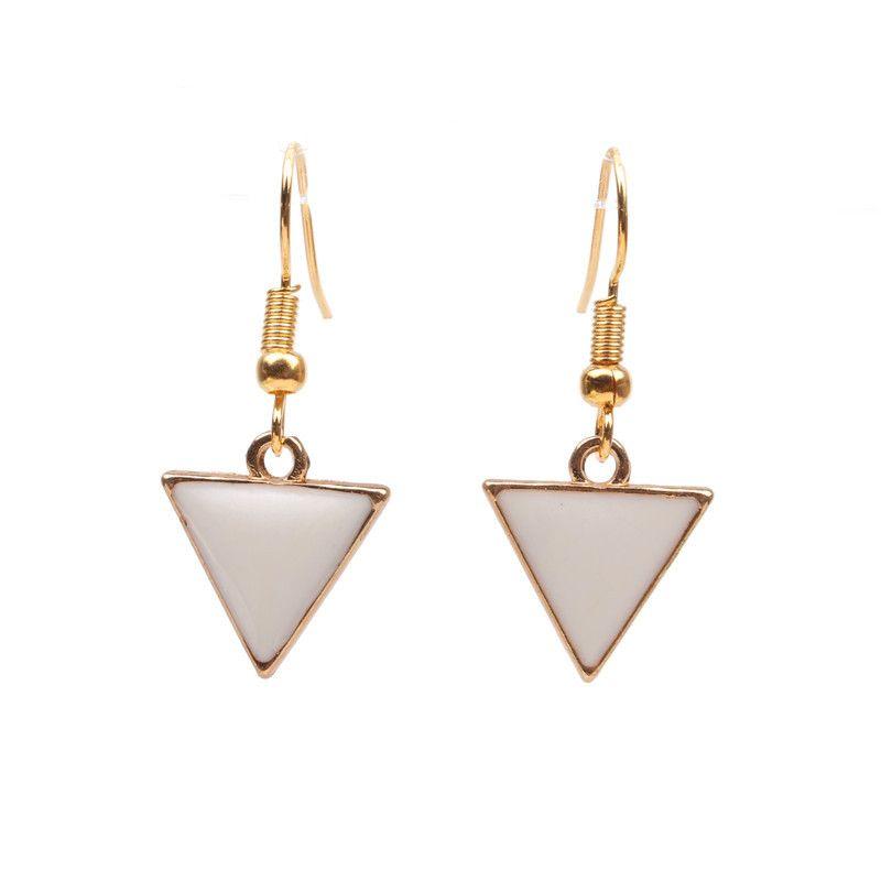 Alloy Fashion Geometric earring  Alloy white earrings NHYL0100Alloywhiteearrings