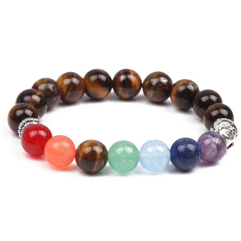 Natural Stone Fashion Animal bracelet  (Tiger eye) NHYL0102-Tiger-eye