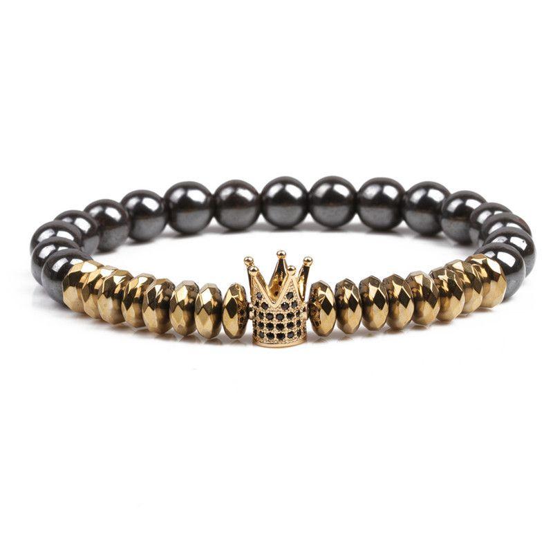 Natural Stone Fashion Geometric bracelet  Alloy NHYL0111Alloy