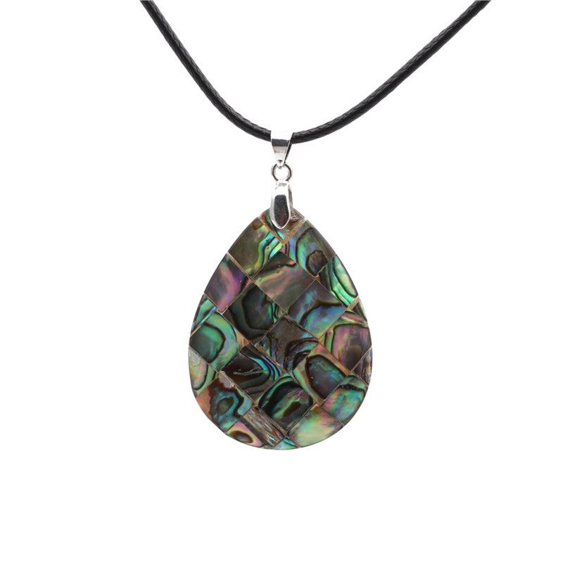 Alloy Fashion Geometric necklace  (Water droplets) NHYL0130-Water-droplets