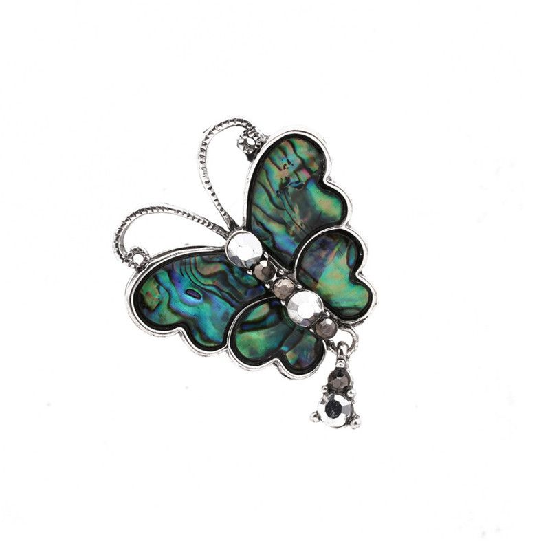 Alloy Fashion Flowers brooch  butterfly NHYL0158butterfly