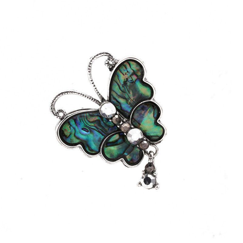 Alloy Fashion Flowers brooch  butterfly NHYL0158butterfly