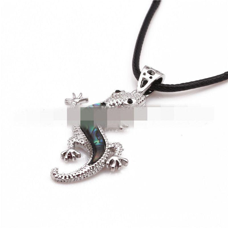 Alloy Fashion Animal necklace  (crocodile) NHYL0171-crocodile