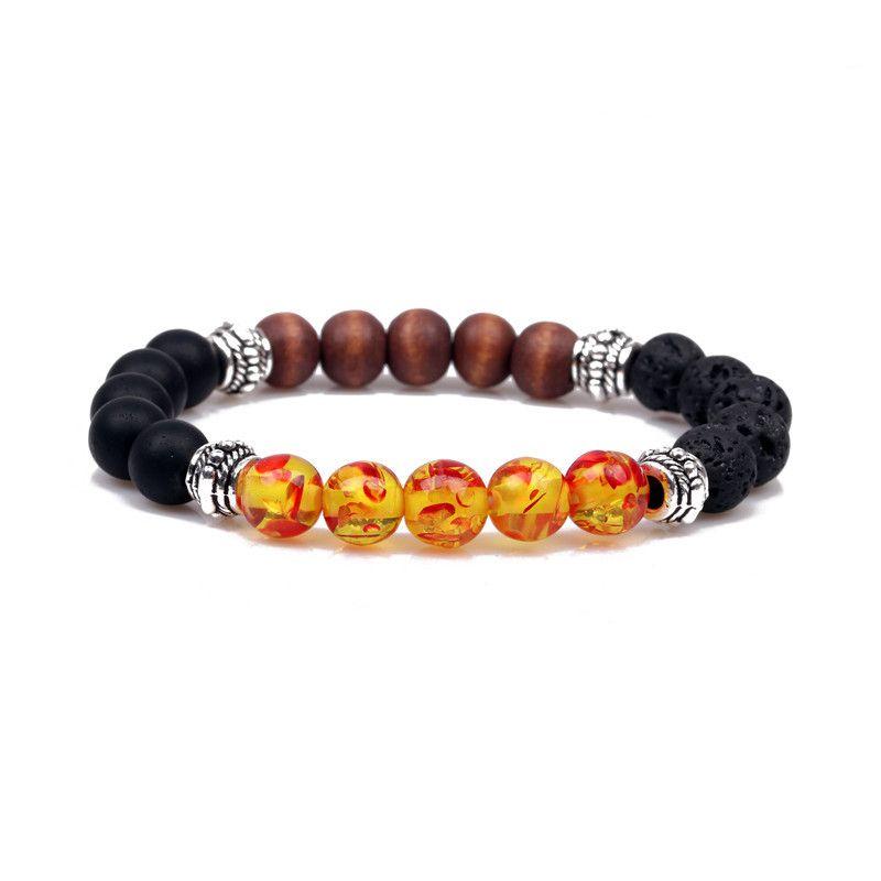 Imitated crystalCZ Fashion Animal bracelet  amber NHYL0179amber