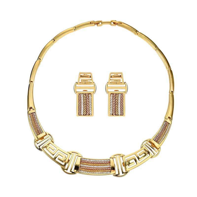 Alloy Korea  Jewelry Set  61172413 alloy NHXS177761172413alloy