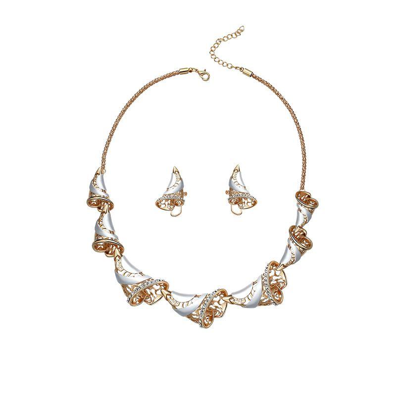 Alloy Simple  necklace  61172410 alloy NHXS179061172410alloy