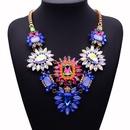 Alloy Bohemia Geometric necklace  Color one NHJQ10676Colorone
