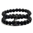 Natural Stone Fashion Animal bracelet  Black crown NHYL0099Blackcrown