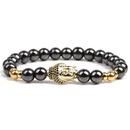 Bracelet gomtrique de mode en pierre naturelle alliage NHYL0103alliage