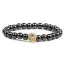 Natural Stone Fashion Animal bracelet  black NHYL0118black